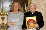 Vassula a pápával és a pápáról